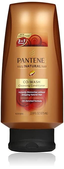 5c7eebe5f092d Amazon.com   Pantene Pro-V Truly Natural Hair Co-Wash Conditioner ...