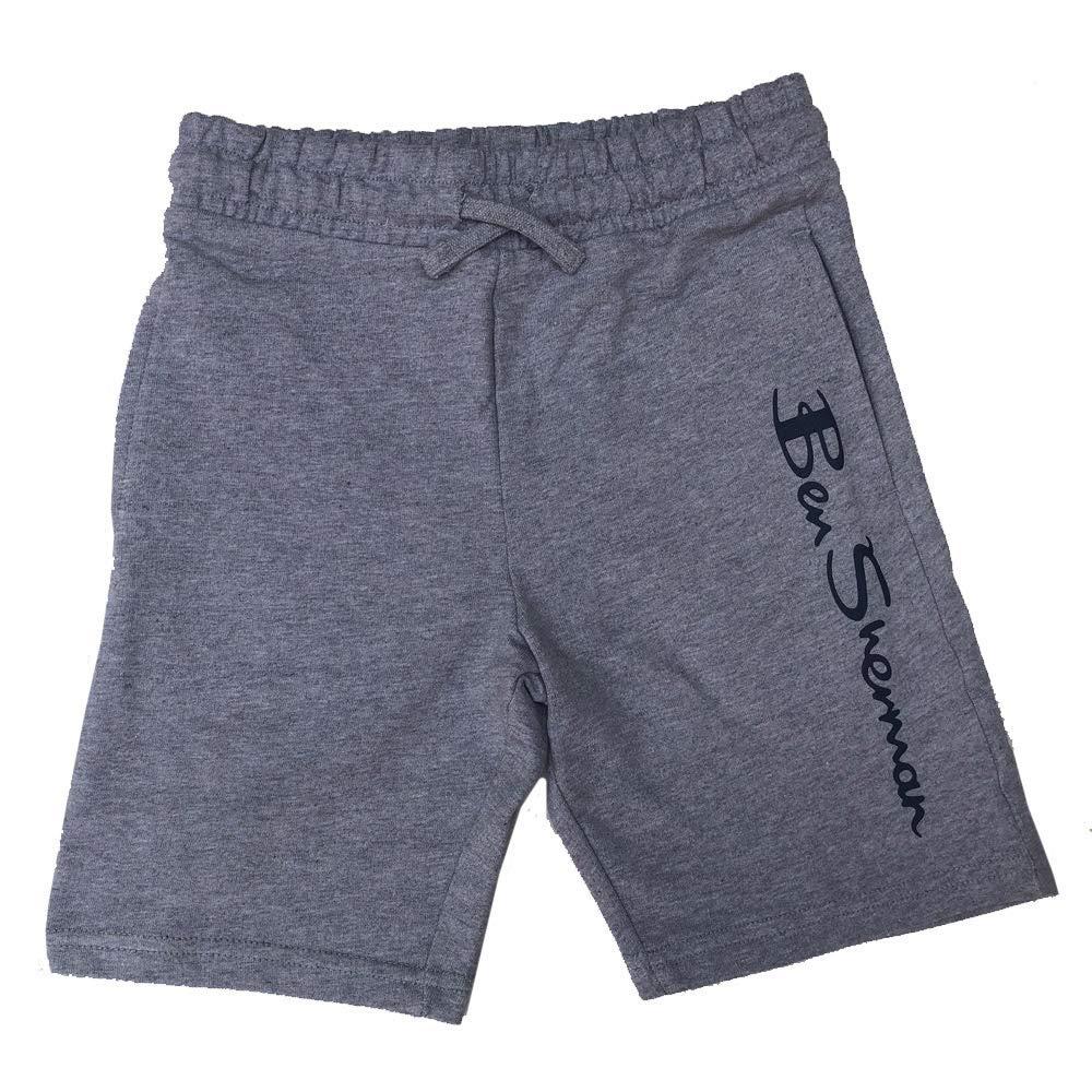 Ben Sherman Niño Shorts Chándal Material Shorts Vintage Gris ...