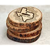 Drink Coasters, Wood Coasters, Wooden Coaster, Texas Proud, Come and Take It