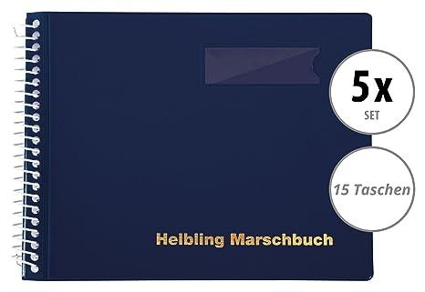 Helbling bmb15 Marcha libro Juego de 5 (5 ordenador libros con por 15 fundas transparentes