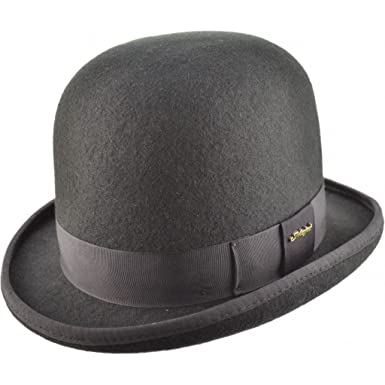 fe9834e675d55d Cotswold Country Hats Oversized Tall Bowler Hat - Black - Unisex ...