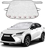 Windshield Cover for Ice and Snow, Car Windshield Winter Frost Cover