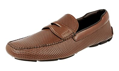 Men's 2DD116 Leather Loafers
