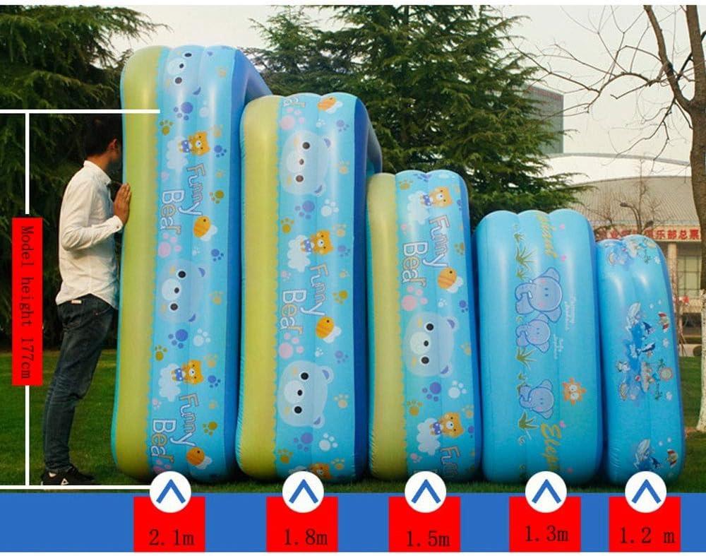 Bañera inflable portátil- Piscina Para Niños Inflable Gigante ...