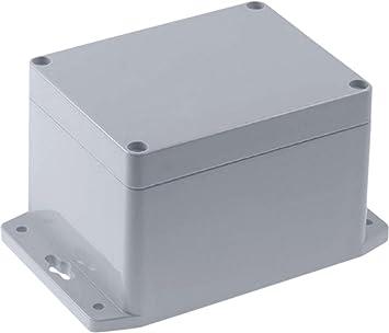 Eurosell Kunststoffgeh/äuse IP65 100 x 100 x 90 mm Elektronische Geh/äuse Box Anschlu/ßdose Elektrik Anschluss Dose