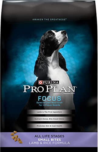 Purina Pro Plan Small Bites Lamb Rice Dry Dog Food