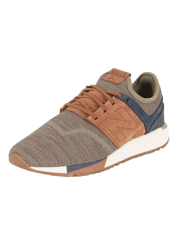New Balance Herren 247 Classic Mesh Sneaker  44 EU|Braun (25)