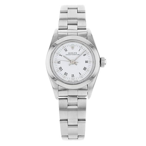 Rolex Oyster 76080 - Reloj de pulsera para mujer, automático, con certificado de autenticidad: Rolex: Amazon.es: Relojes