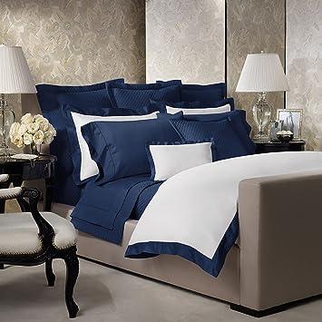 Amazon.com: Ralph Lauren Home Langdon Polo Navy White & Navy Blue ...