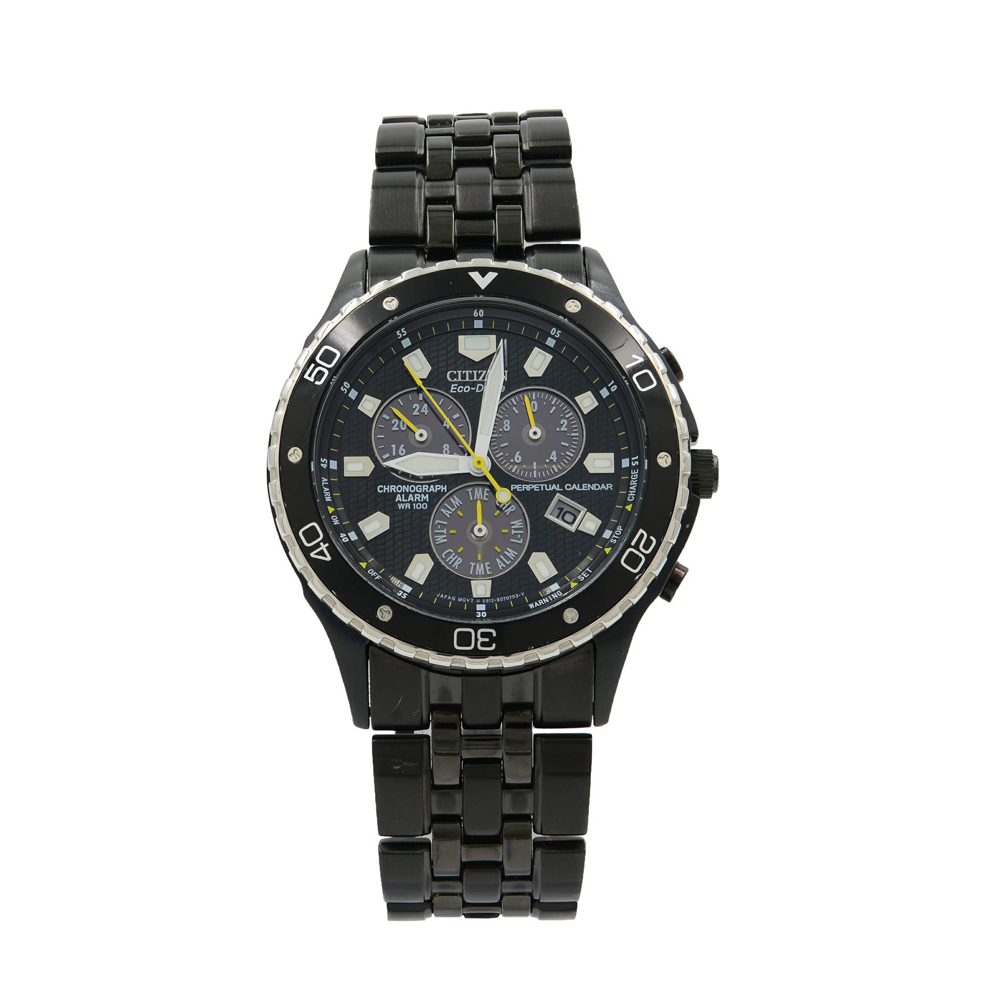 Citizen Eco Drive Quartz Male Watch BL5295-55E (Certified Pre-Owned)