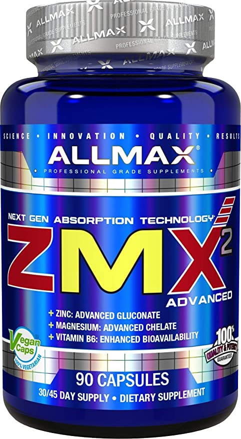 Amazon.com: ALLMAX Nutrition ZMX2 Advanced Next Gen Absorption Supplement, 90 Capsules: Health & Personal Care