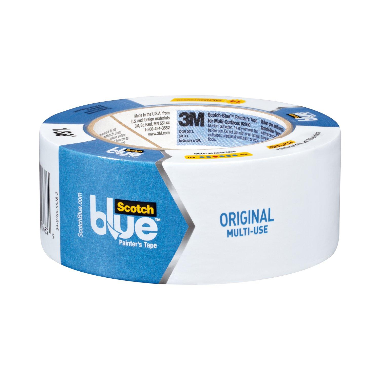 ScotchBlue Painter s Tape Multi Use 1 41 Inch x 60 Yard 12 Rolls
