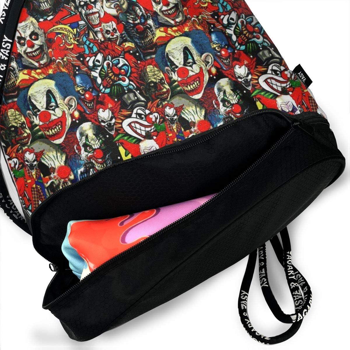 Clowns The Bad Boys Multifunctional Bundle Backpack Shoulder Bag For Men And Women
