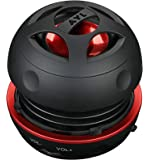 AYL Portable Mini Capsule Speaker System with 3YR Guarantee with Rechargeable Battery and Expandable Bass Resonator for…