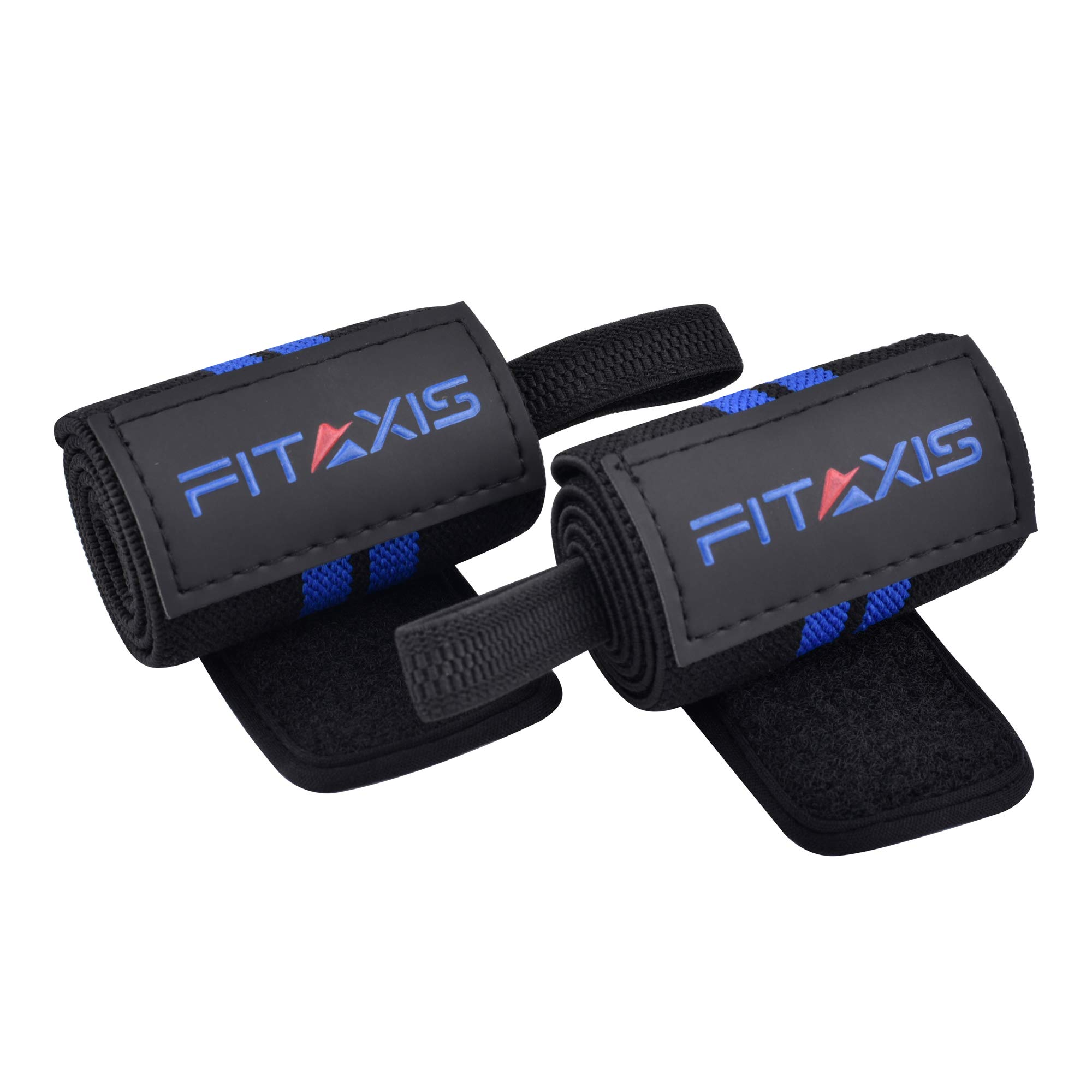 FITAXIS Muñequeras | Wrist Wraps/Bands for Gimnasio Fitness Crossfit Weightlifting para Hombres y Mujeres (Black/Blue, 18"|2000|2000|?|a6a12ab0e762c8e676b6d15553478a41|False|UNLIKELY|0.3546784222126007