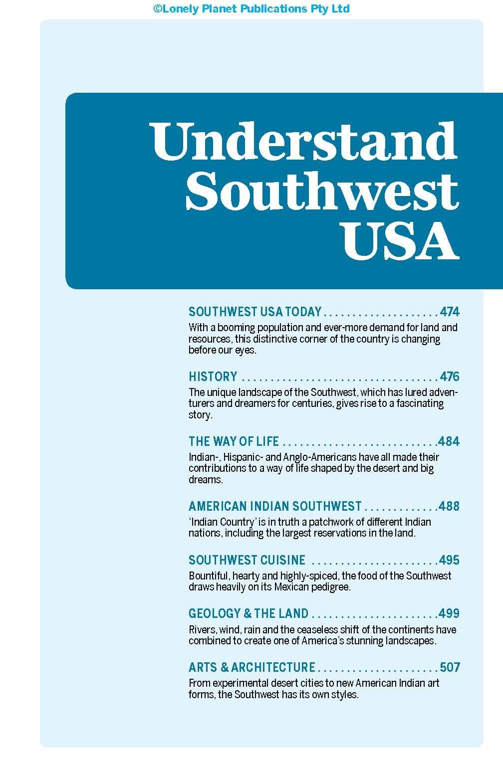 Lonely Planet Southwest USA 21 Travel Guide  McNaughtan, Hugh ...
