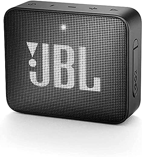 JBL GO 2 by Harman Portable Waterproof Bluetooth Speaker with mic (Black)
