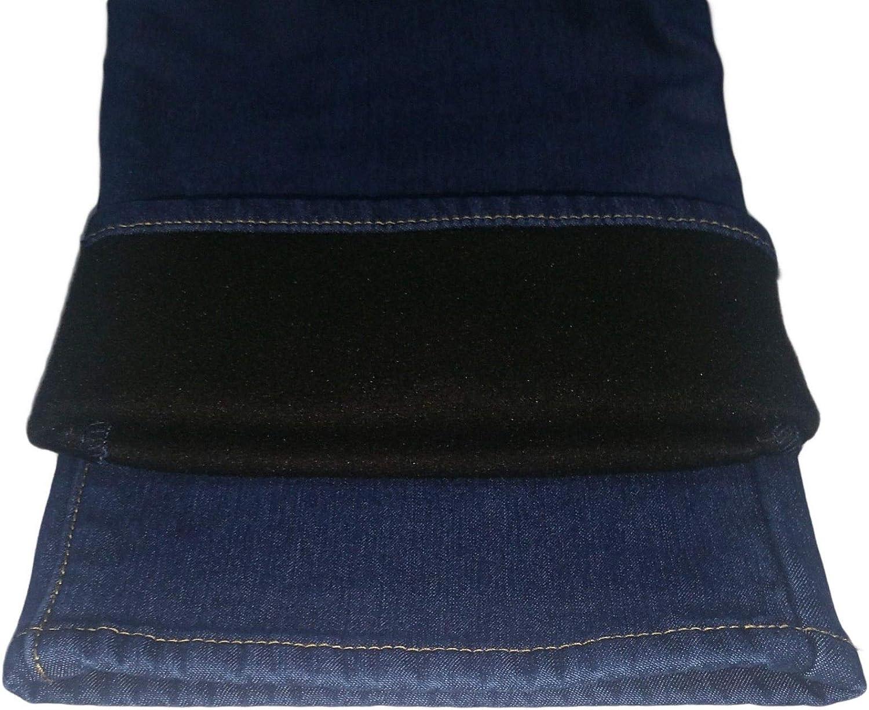 DEMONA Jeans 709 Uomo Invernale Termico Elastico Felpato Imbottito dalla Taglia 46 alla 50 Foderato in Pile Caldo Cotone Inverno Uomo Novita Offerta ANTIGELO
