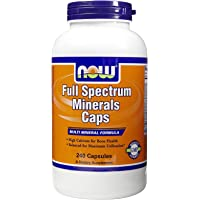 NOW Foods Full Spectrum Minerals, 240 Caps (Pack Of 2)