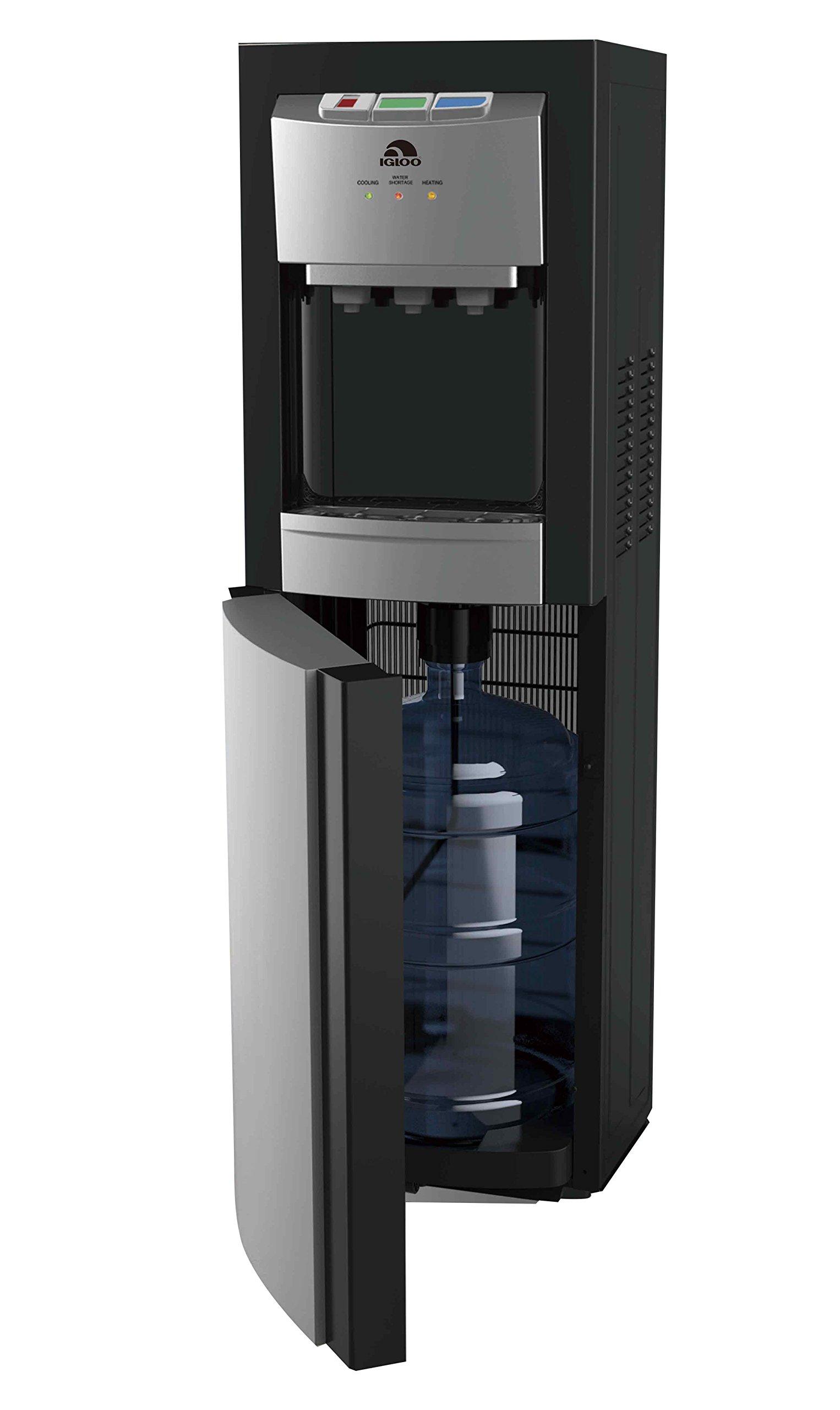 Igloo MWC8988 Bottom Loading Water Cooler Dispenser, Black