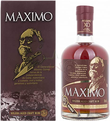 Ron Máximo XO Extra Premium Solera Aged Craft Rum 41% - 700 ...