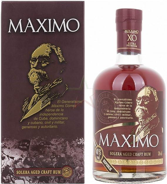 Ron Máximo XO Extra Premium Solera Aged Craft Rum 41 ...
