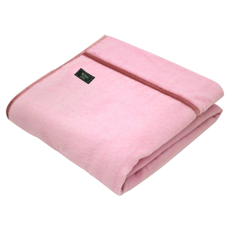 京都西川 毛布 ピンク シングル WCO2100 B076PLR8TG ピンク