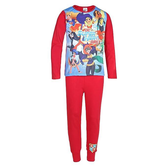 DC Comics - Superheroínas - Pijama para niña - Producto oficial: Amazon.es: Ropa y accesorios