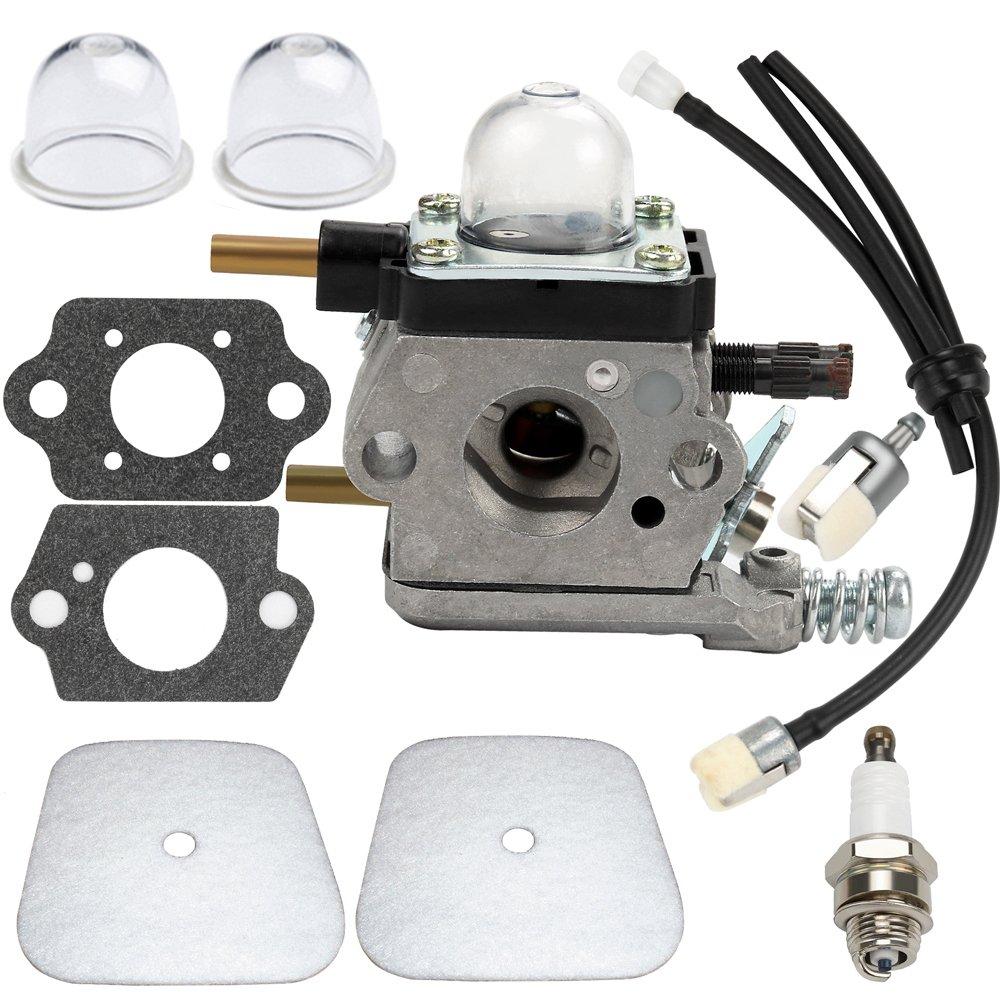 Amazon.com : Dalom C1U-K54A Carburetor For 2-Cycle Mantis Tiller ...