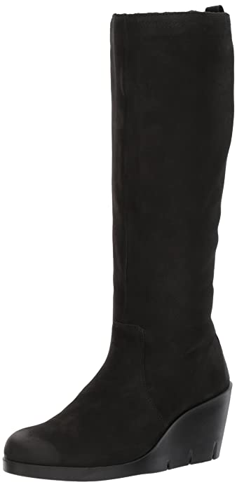 Womens Bella Wedge Long Boots Ecco
