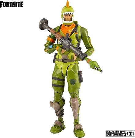 HEO GMBH- Fortnite Figura articulada Rex, Multicolor (MC Farlane MCF10605-3)