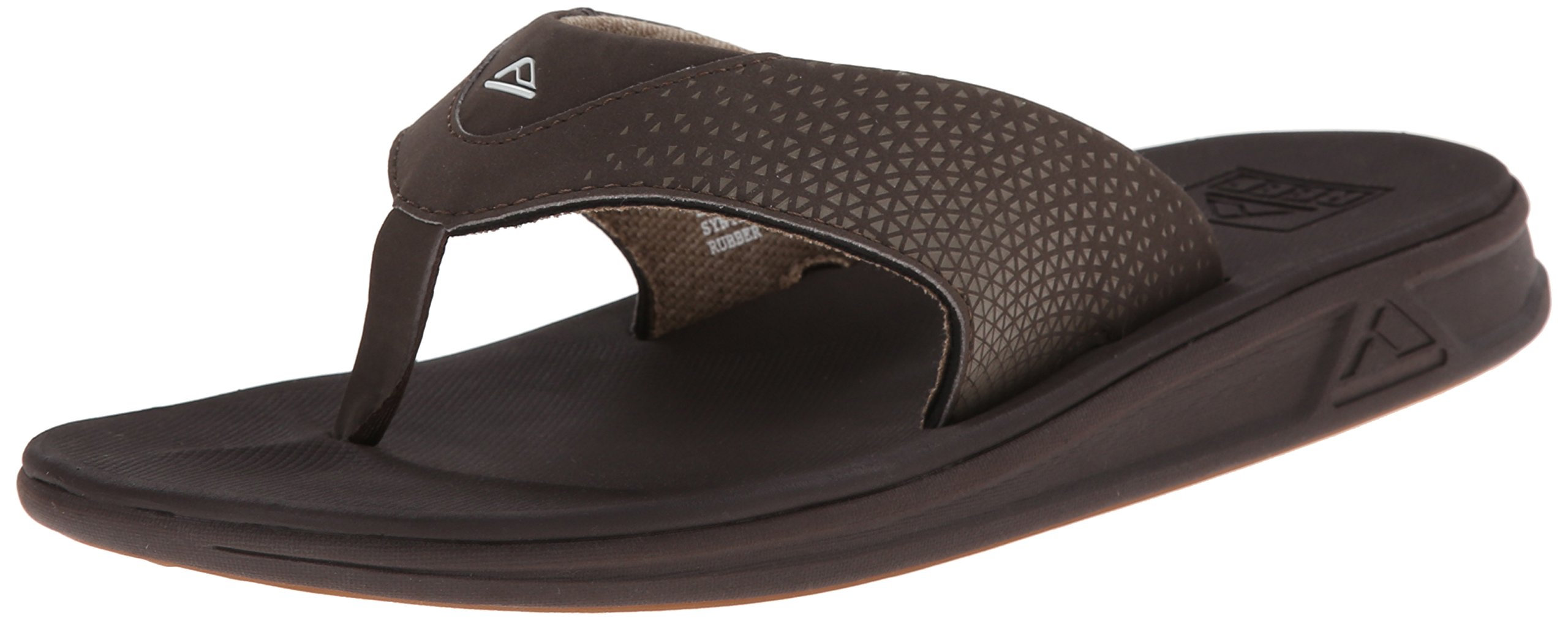 Reef Men's Rover Flip Flop, Brown, 11 M US