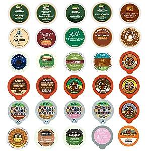Custom Variety Pack Decaf Coffee for Keurig K-Cup Brewers, 30 Count