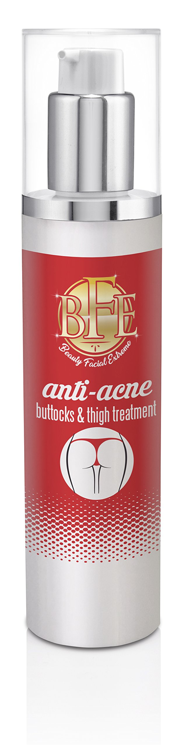 Anti-Acne Buttocks & Thigh Treatment- Clears Away Acne, Pimples, and Ingrown Hairs for the Buttocks and Thigh Area. Prevents Future Breakouts. by Beauty Facial Extreme