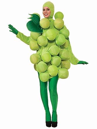 M C S (Verde) Uvas tamaño de la Funda de Disfraz para Adulto ...