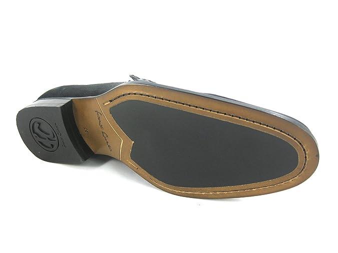 6962724c12a Mocasines de Caballero en Piel de Cocodrilo Franco Cuadra  Amazon.es   Zapatos y complementos