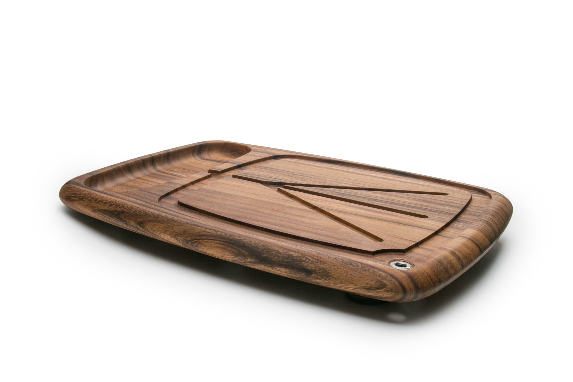 Ironwood Gourmet 28103 Kansas City Carving Board, Acacia Wood by Ironwood Gourmet