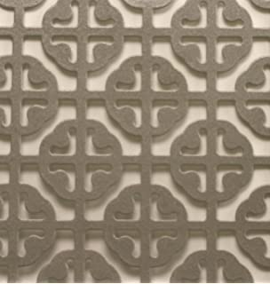 MD Building Products 57005 1-Feet by 2-Feet Satin Nickel Mosaic Aluminum Sheet