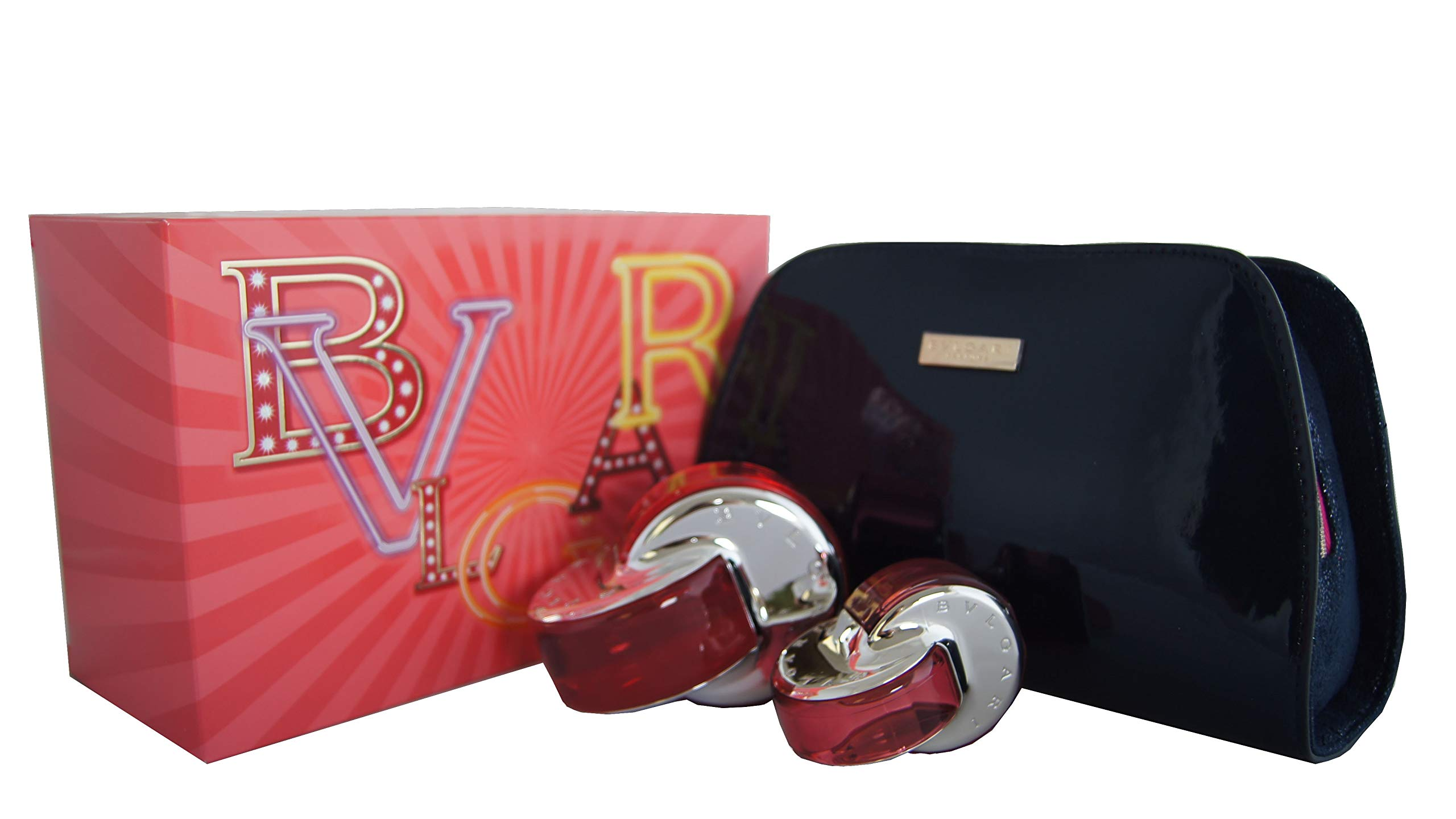 Bvlgari Omnia Coral 2 Piece Fragrance Gift Set for Women, 2.69 Ounce