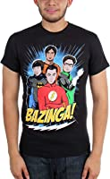 Big Bang Theory - Mens DC Superhero Group Guys T-Shirt