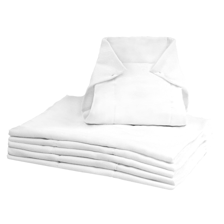 Kushies Organic Prefold Diapers - 6 Pack'