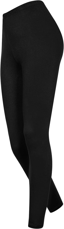 Leggings pour Femmes en Coton avec Longueur Complete De Type Pantalon De Haute Qualite pour Pratique Active De Sport