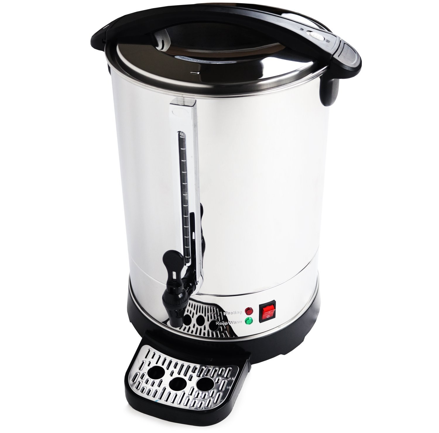 oypla electrical 20l catering hot water boiler tea urn coffee