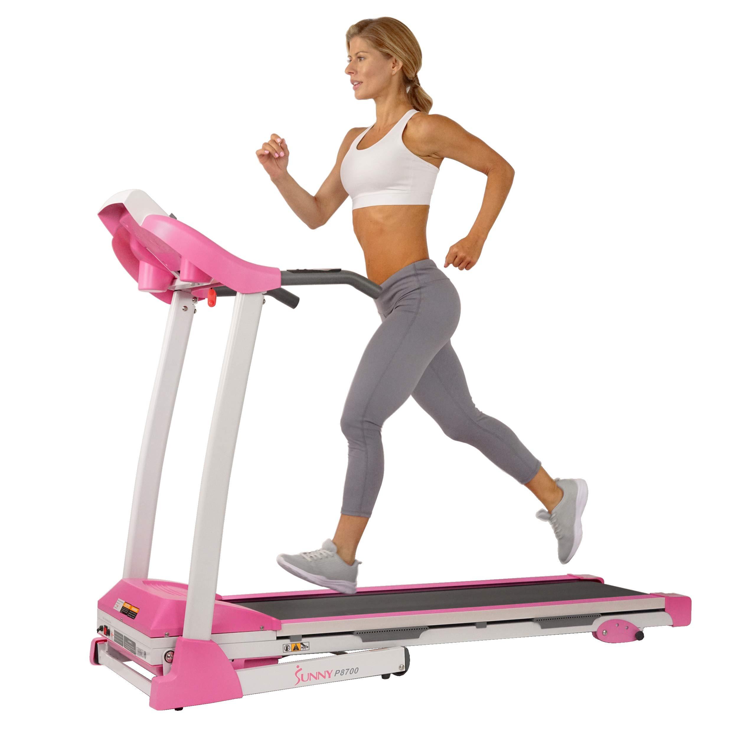 Sunny Health & Fitness P8700 Pink Treadmill by Sunny Health & Fitness (Image #10)