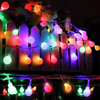 Fairy Tale String Lights 73 8ft 150 Led Ball Lights Constant Lighting And 8 Lighting Modes Indoor And Outdoor Decoration Suitable For Garden Christmas Bedroom Wedding Party Holiday Decoration Amazon Co Uk Lighting