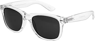 Ultra Transparent Clear Frame Sunglasses With Black Lenses Adults Classic Retro Sunglasses Women Sunglasses Man Fashion Glasses Uv400 Protection Mirror Sunglasses Clear Glasses Rimmed Amazon Co Uk Clothing All our glasses and sunglasses are a standard size. adults clear frame sunglasses transparent sunglasses retro uv400 mens womens