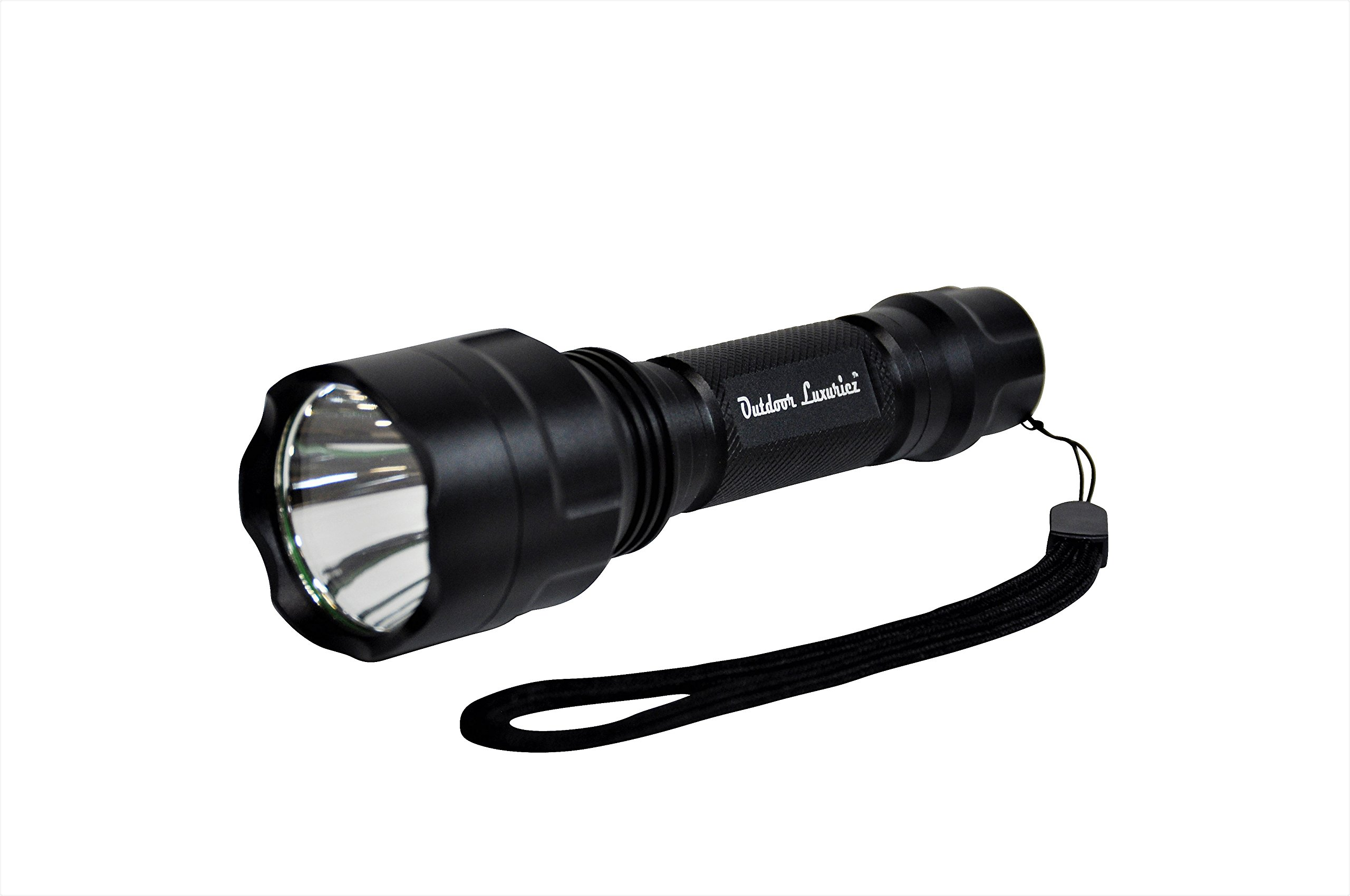 Military Grade Tactical Defense Camping Emergency - Compact IP68 Waterproof High Lumen Rechargeable Handheld LED Flashlight - Outdoor Luxuriez by Outdoor Luxuriez (Image #7)