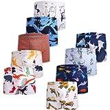 JackLoveBriefs Boys Cool Cotton Boxer Brief Underwear (Pack of 9)