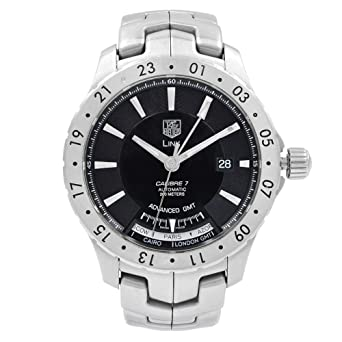 Amazon.com: Tag Heuer Link Automatic-self-Wind Male Watch ...