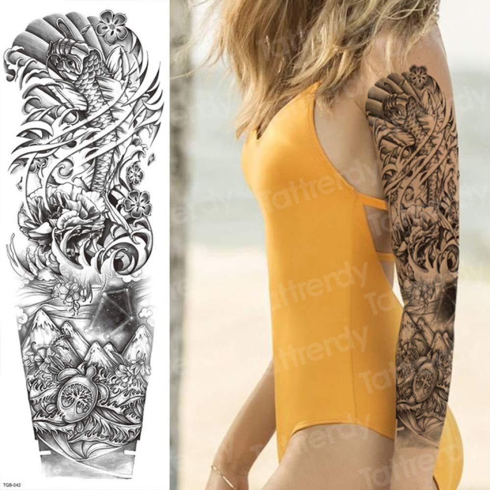 Handaxian 3pcs Tatuaje Pegatina Hombres Cuerpo Completo Arte Brazo ...